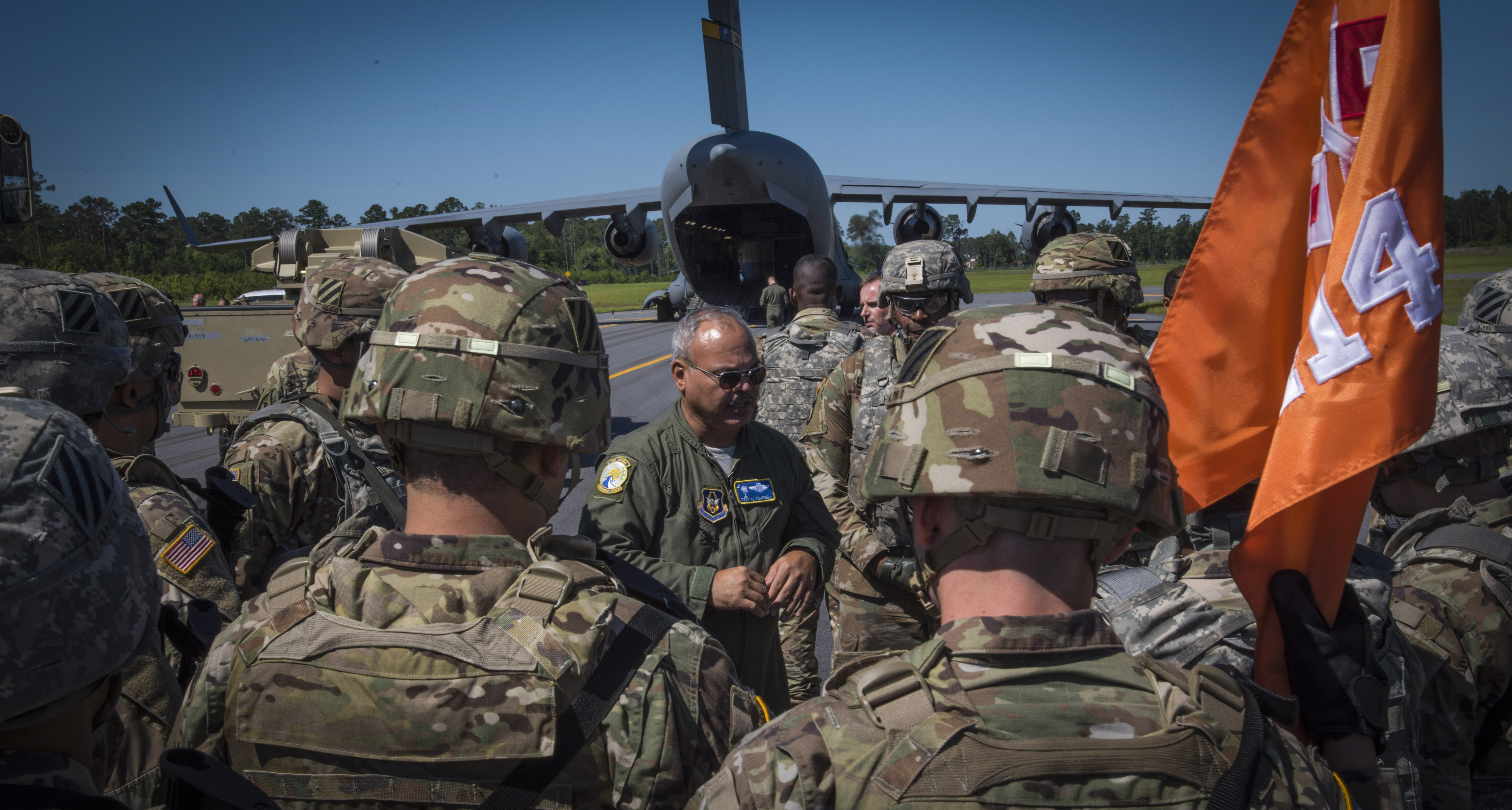 315 AW Reservists Aid Army Exercise