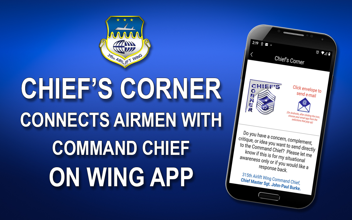 Wing App connects users to Chief