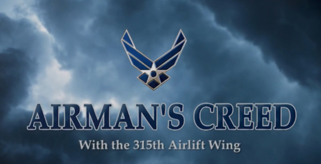 315 AW Airman's Creed