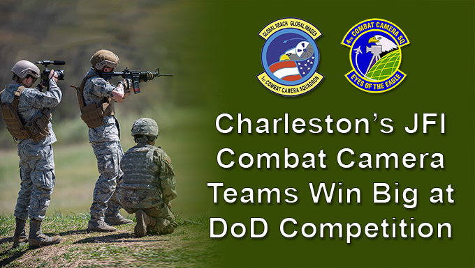 Charleston Combat camera teams take 2 of top three placings in DoD competition