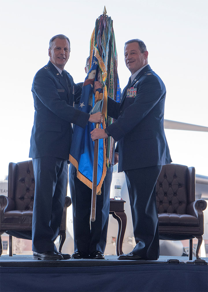 315th Airlift Wing Welcomes New Commander