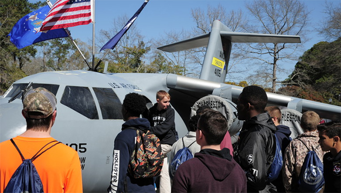 Charleston students attend Tuskegee Airmen Career Day