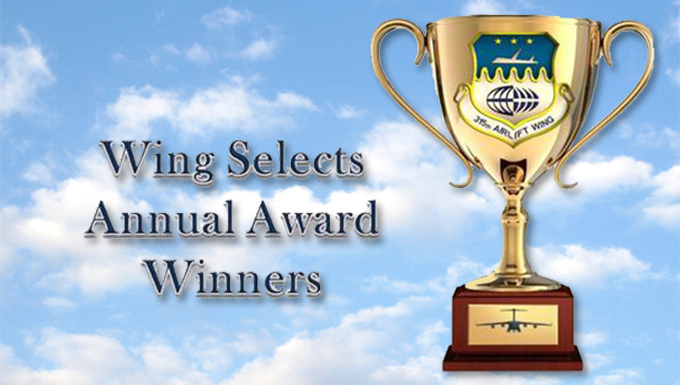 Wing announces 2016 annual award winners