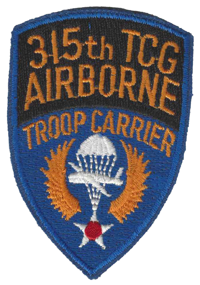 315th Troop Carrier Group patch