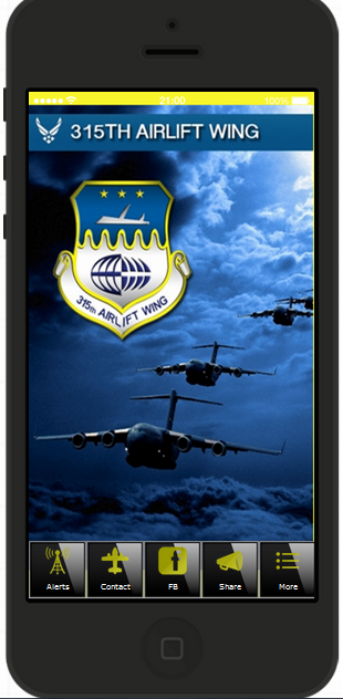 315th Airlift Wing App