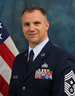 Command Chief Master Sgt. Mark Barber