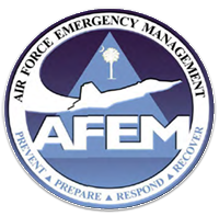 Air Force Emergency Management Logo