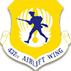 437th AW Patch