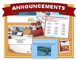 Family Readiness Announcements
